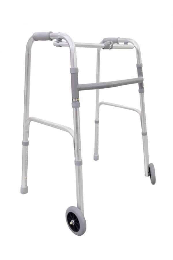 הליכון מתקפל עם גלגלים יד שרה